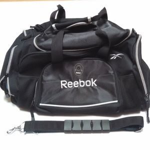 Reebok Gym Bag Duffel Bag Black